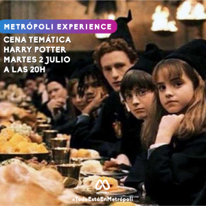 cena tematica harry potter, vinoteo