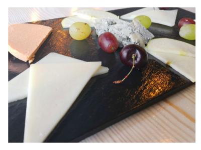 tabla de quesos asturianos